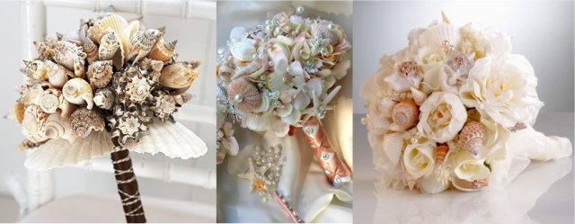 Shell Bouquets